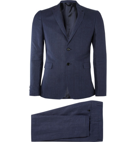 Burberry London Samford Slim-Fit Hemp Suit