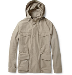 Loro Piana Short Traveller Cotton-Blend Parka Jacket