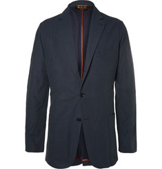 Loro Piana Unstructured Cotton and Silk-Blend Blazer