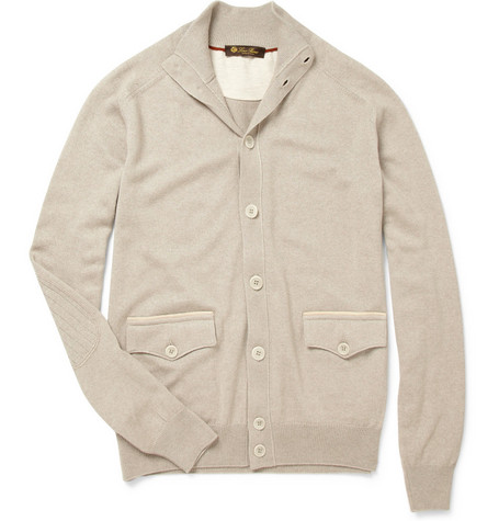 Loro Piana Silk and Cashmere Cardigan