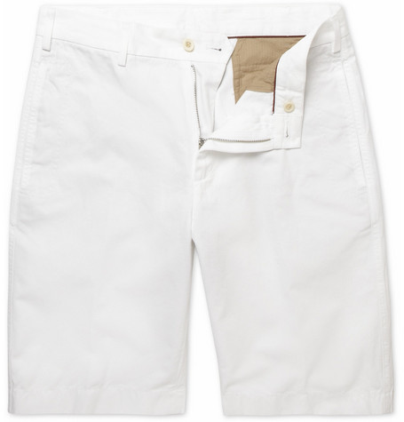 Loro Piana Cotton and Linen-Blend Bermuda Shorts
