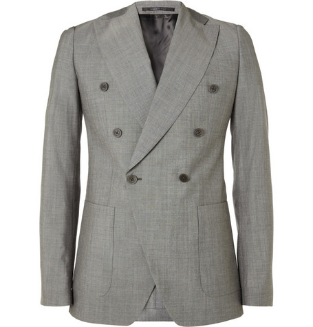 Viktor & Rolf Double-Breasted Wool Blazer