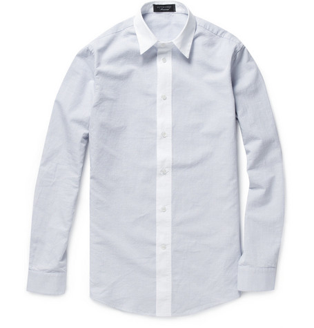 Viktor & Rolf Jacquard-Woven Cotton-Blend Shirt