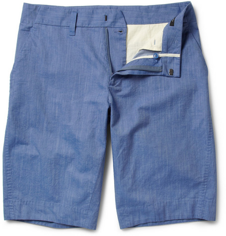 Viktor & Rolf Washed Cotton Shorts