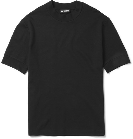 Raf Simons High-Collar T-shirt