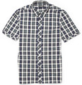 Raf Simons - 1995 Plaid Short-Sleeved Shirt