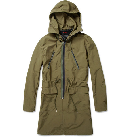 Raf Simons 1995 Hooded Drawstring Parka Jacket