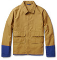 Marni - Contrast-Trim Cotton-Blend Canvas Jacket