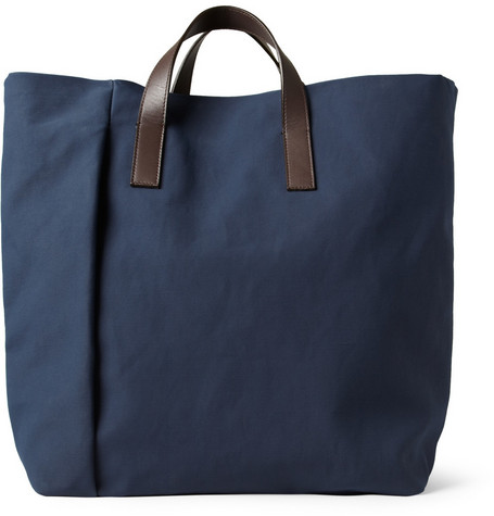 Marni Coated Canvas Tote Bag