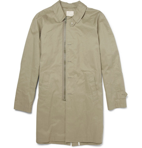 Band of Outsiders Waxed Rain Coat