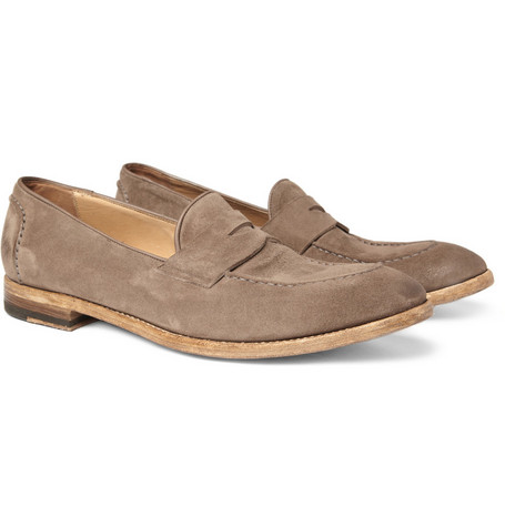 Paul Smith Shoes & Accessories Blake Suede Penny Loafers