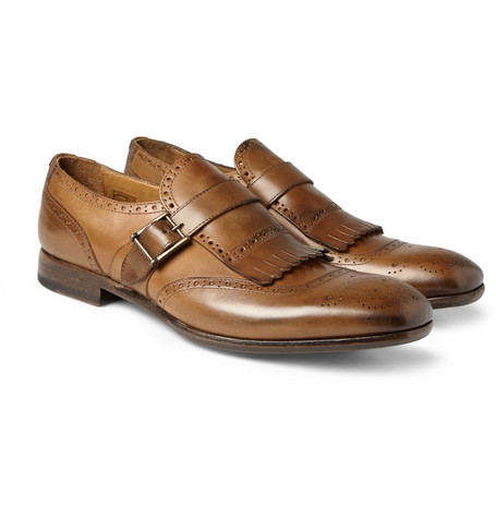 Paul Smith Shoes & Accessories Yves Fringed Monk-Strap Brogues
