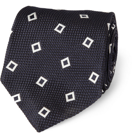 Ralph Lauren Black Label Woven Silk-Jacquard Tie