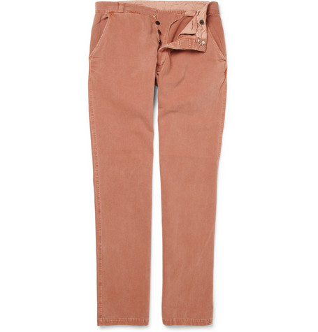 Our Legacy Reform Washed Cotton-Twill Trousers