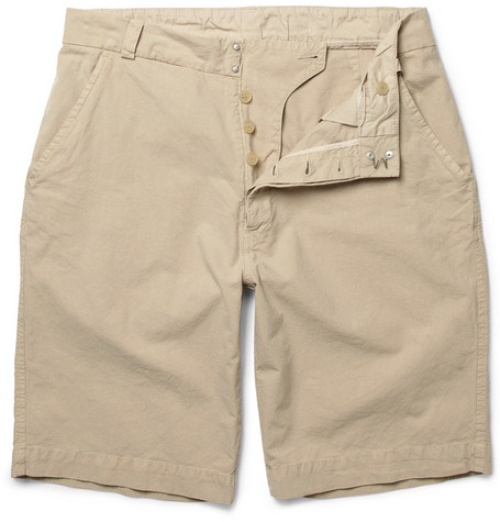 Our Legacy Reform Lightweight Cotton Shorts