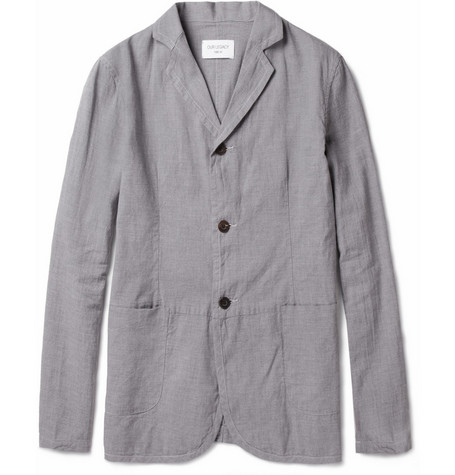 Our Legacy Archive Unlined Cotton-Canvas Blazer