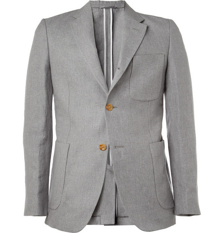 Our Legacy 3B Rolling Linen and Cotton-Blend Blazer