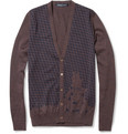 Monsieur Lacenaire Sheep Invader Merino Wool Cardigan