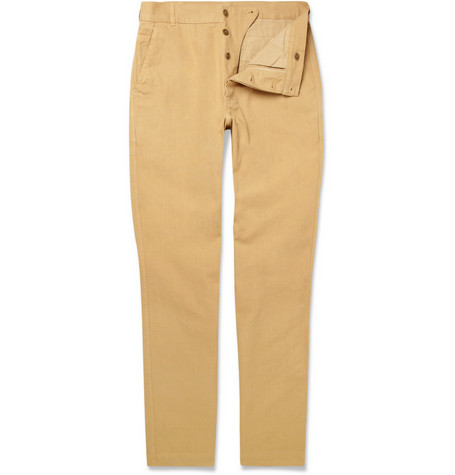 Margaret Howell MHL Straight-Leg Cotton Trousers