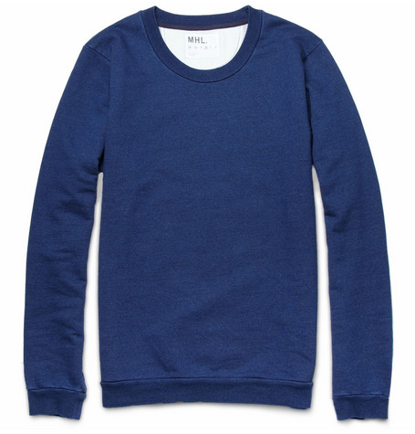 Margaret Howell MHL Crew-Neck Loopback-Cotton Sweatshirt