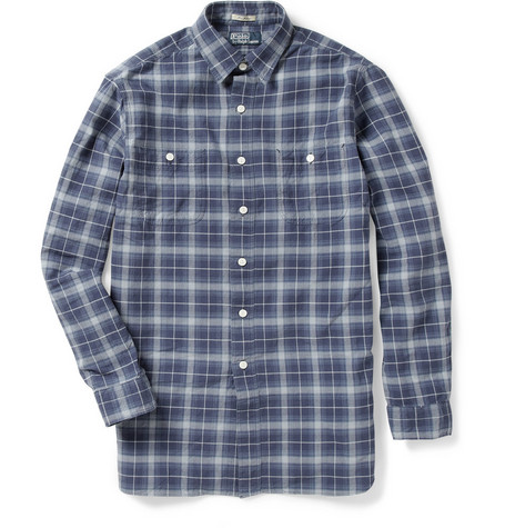 Polo Ralph Lauren Plaid Washed-Cotton Shirt