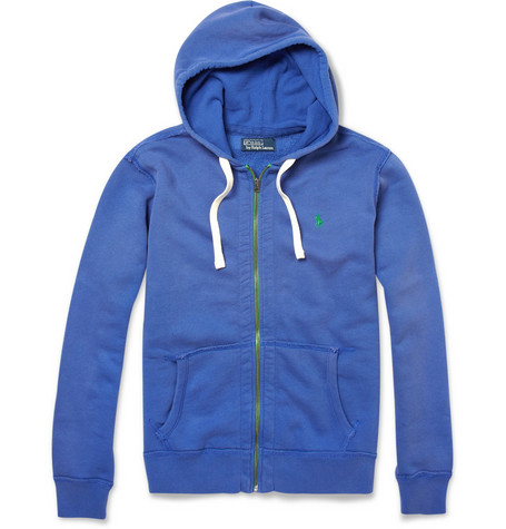 Polo Ralph Lauren Cotton-Fleece Zip-Up Hoodie