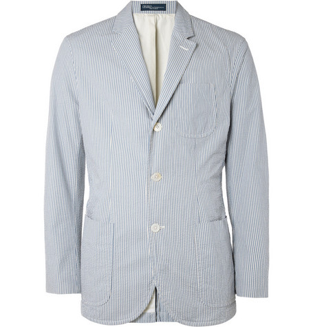 Polo Ralph Lauren Cotton-Seersucker Blazer