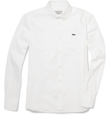 Maison Kitsuné Button-Down Collar Oxford Shirt
