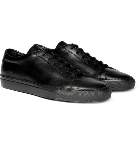 Common Projects Original Achilles Leather Low Top Sneakers