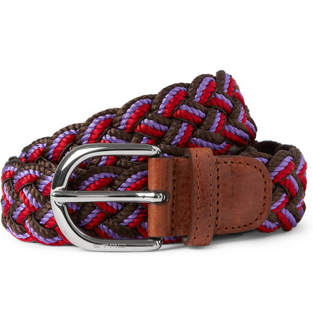 Etro Woven Cotton Belt
