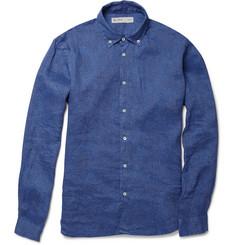 Etro Warrant Paisley-Print Linen Shirt