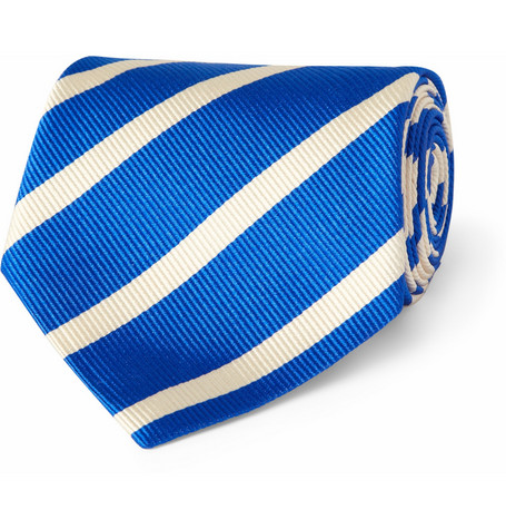 Paul Smith Shoes & Accessories Graduated Striped Silk Tie