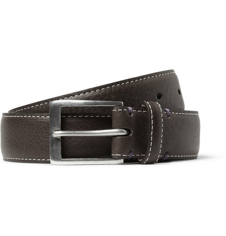 Paul Smith Shoes & Accessories Pin-Up Leather Belt