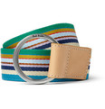 Paul Smith Shoes & Accessories - Striped Canvas Belt