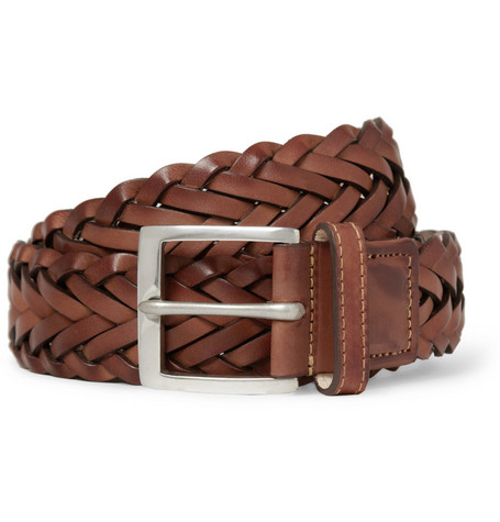 Paul Smith Shoes & Accessories Woven Leather Belt