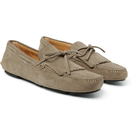 Church's Barnaby Fringed Suede Loafers