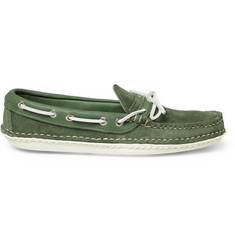Quoddy Canoe Suede Boat Shoes