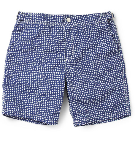 Paul Smith Shoes & Accessories Long-Length Patterned Swim Shorts