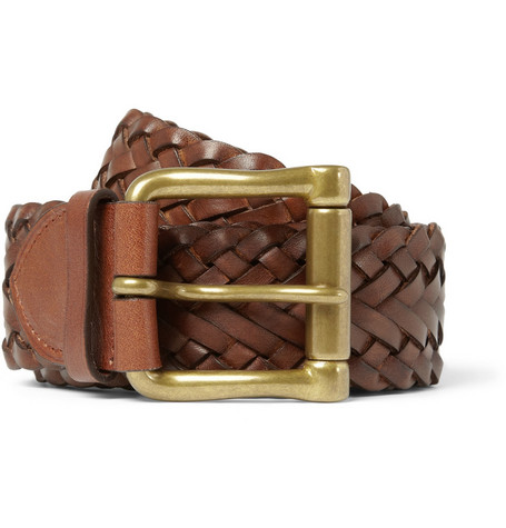 Ralph Lauren Shoes & Accessories Braided Leather Belt