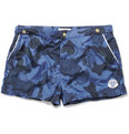Robinson les Bains - Oxford Court Short-Length Camouflage-Print Swim Shorts