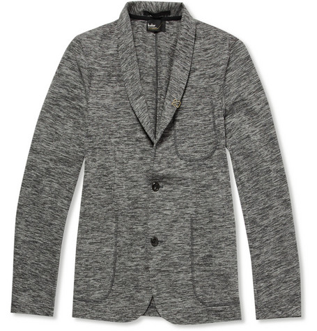 Kolor Shawl Collar Cotton-Blend Blazer