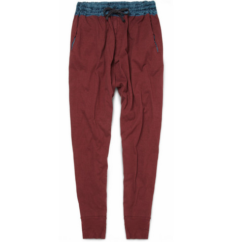 Kolor Two-Tone Cotton Trousers