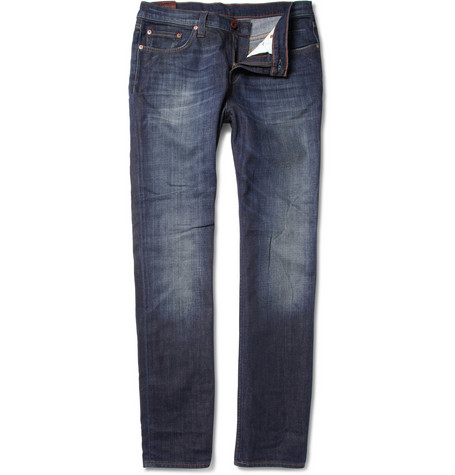 J Brand Kane Washed Straight-Leg Jeans