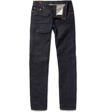 J Brand Kane Worn-In Straight-Leg Jeans