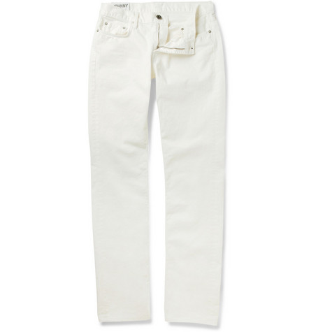 J Brand Johnny Slim-Fit Overdyed Jeans