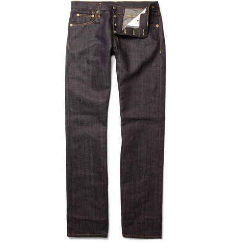 R13 Japanese Selvedge Slim-Fit Jeans