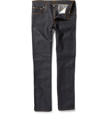 Nudie Jeans Slim Jim Organic Slim-Fit Jeans