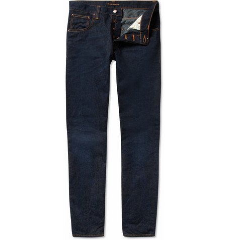 Nudie Jeans Average Joe Straight-Leg Jeans