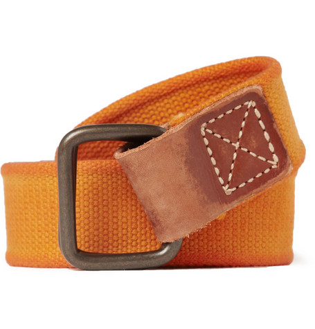 Jean Shop Cotton Canvas Belt
