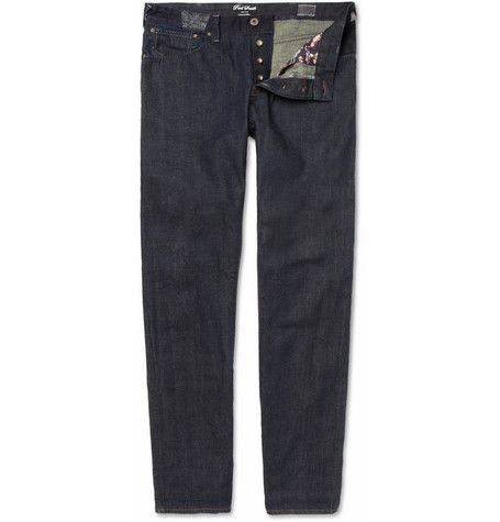 Red Ear Slim-Fit Selvedge Denim Jeans